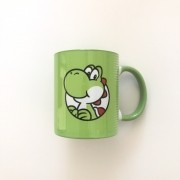 Caneca Geek Love Super Mario 3d World - Yoshi