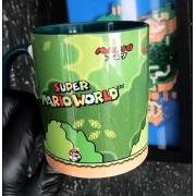 Caneca Geek Love Super Mario  World