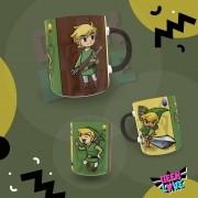 Caneca Geek Love Zelda - Link