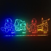 Luminária Pokemons