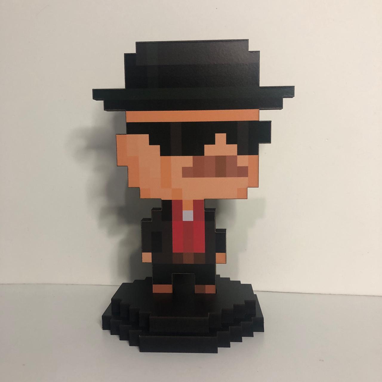 Action Figure Pixel Breaking Bad - Heisenberg