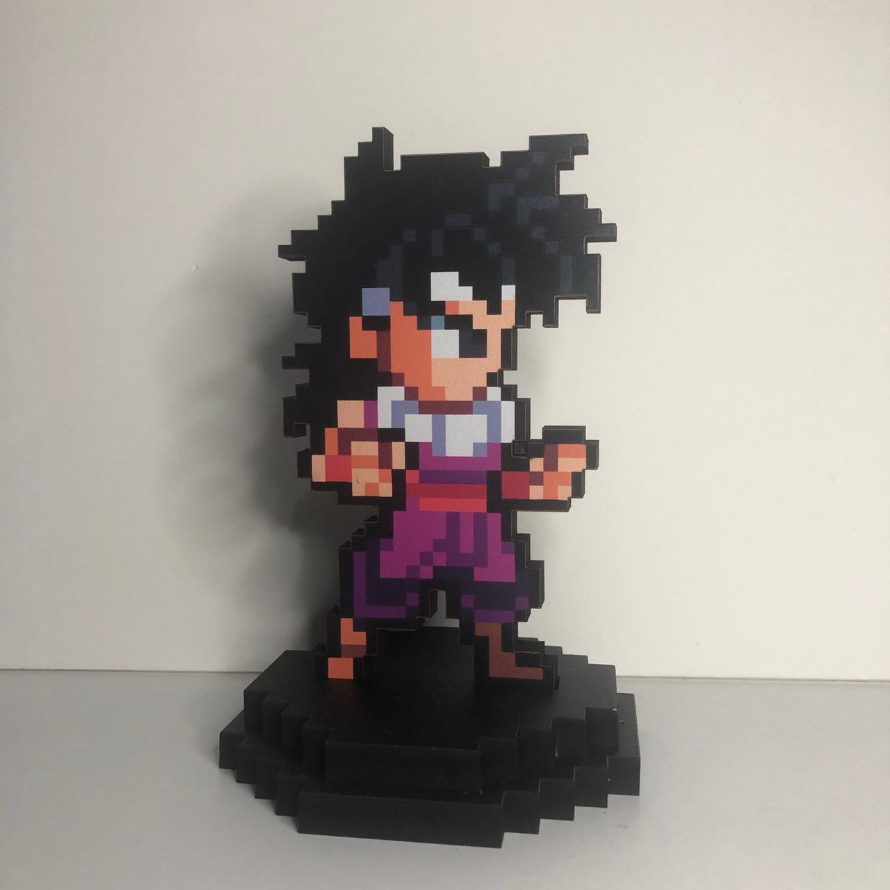 Action Figure Pixel Kid Gohan - Dragon Ball