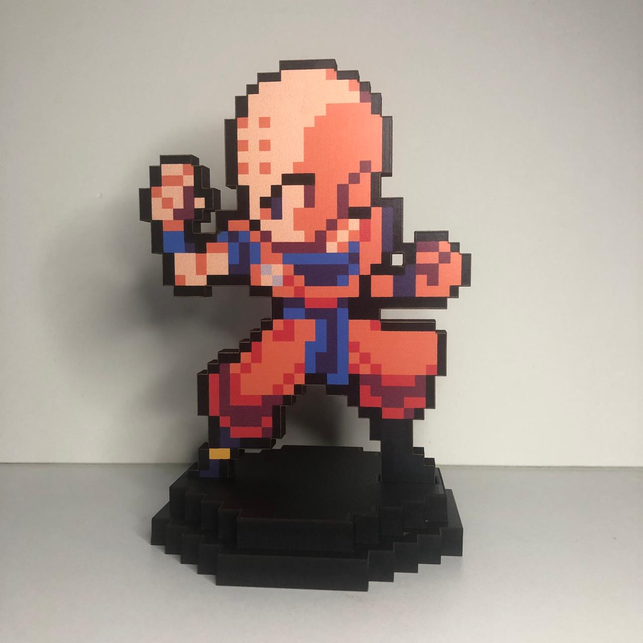 Action Figure Pixel Kuririn - Dragon Ball