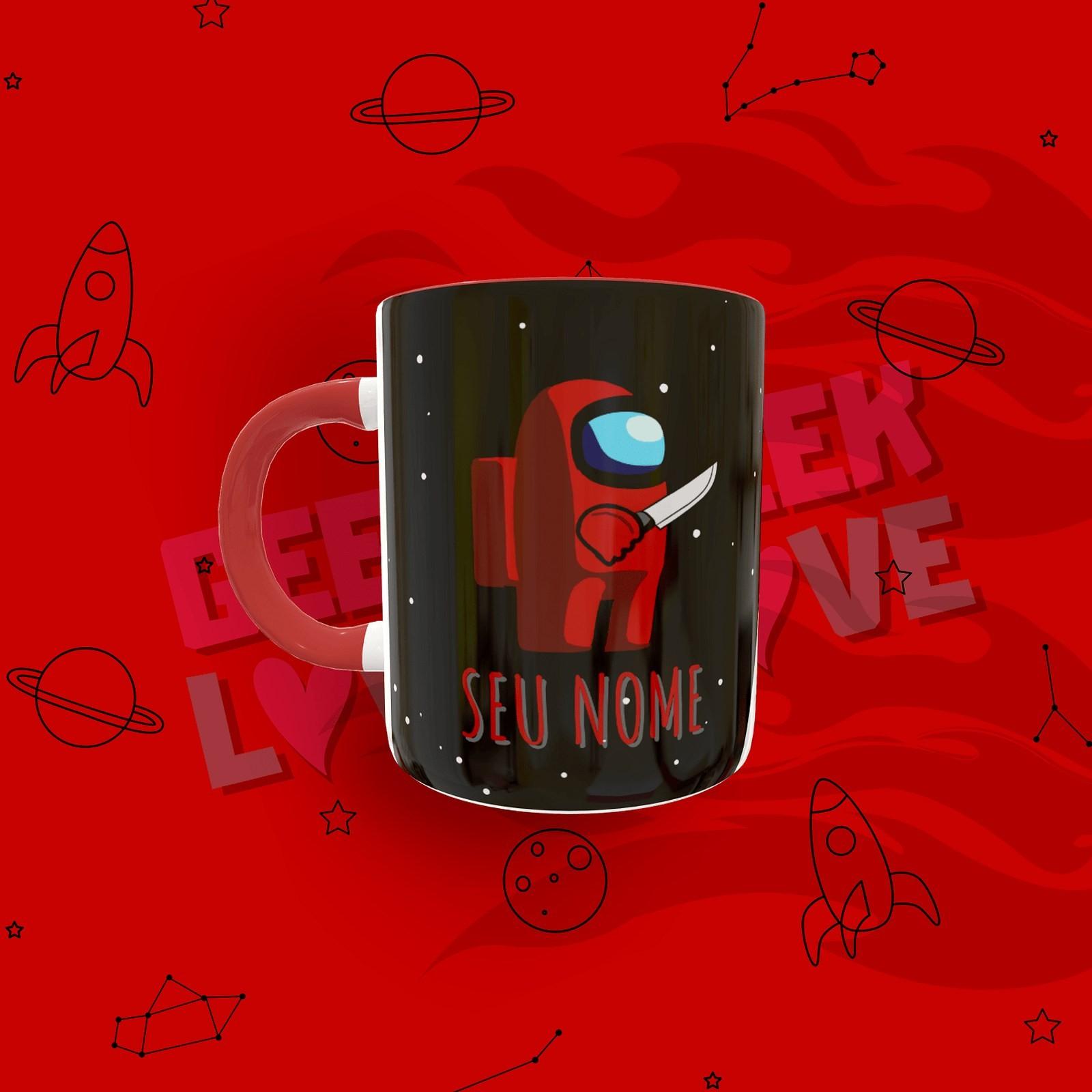Caneca Geek Love Amoung Us - Nome