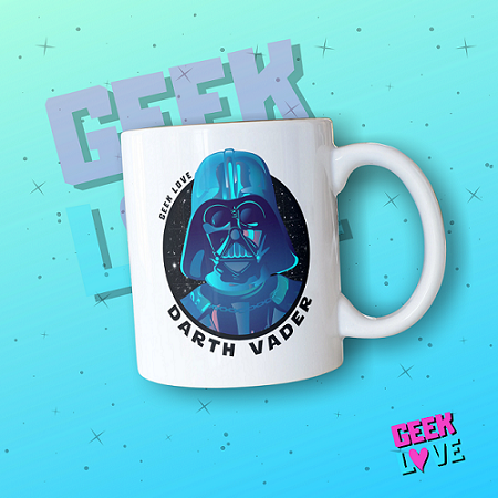 Caneca Geek Love Darth Vader