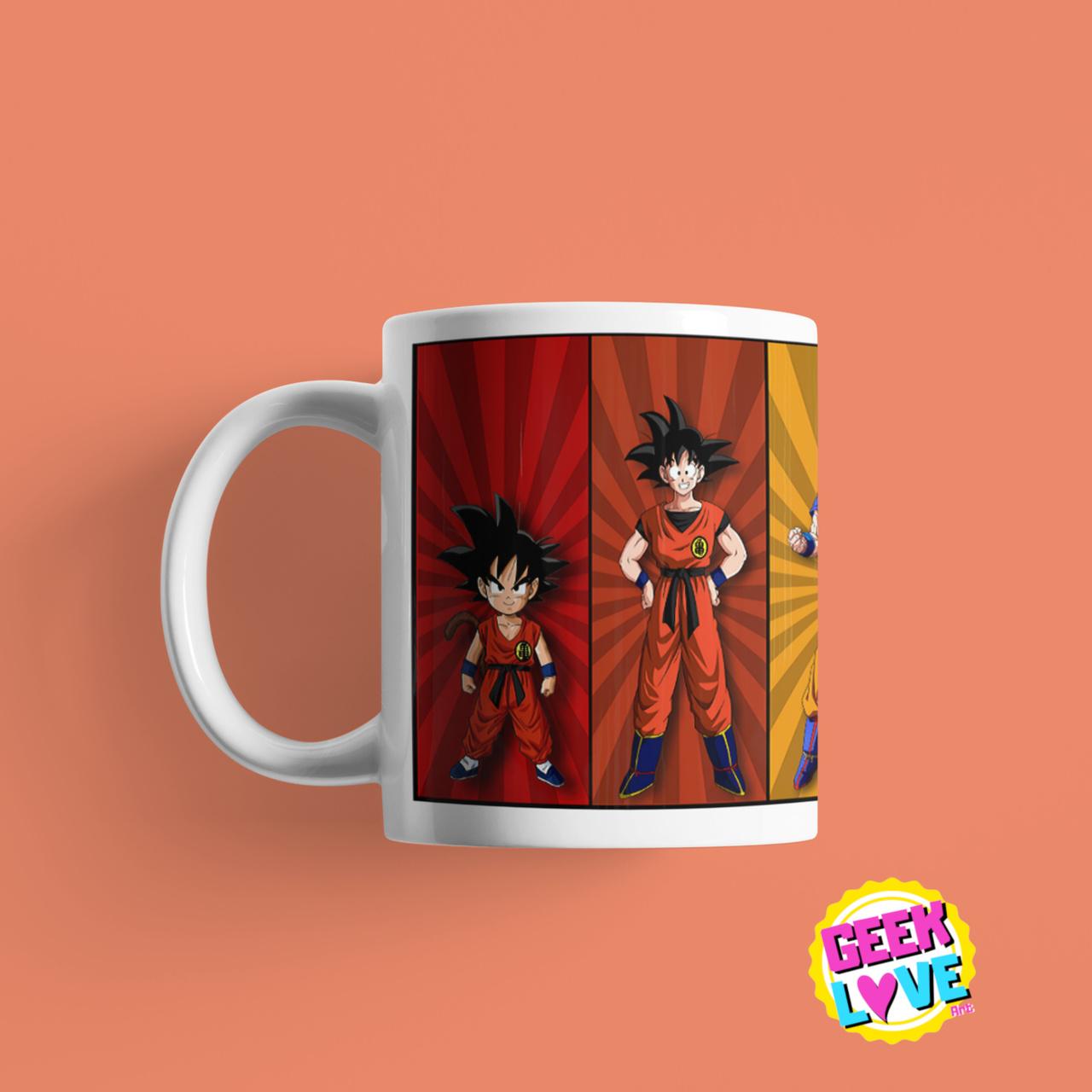 Caneca Geek Love - Dragon Ball Goku
