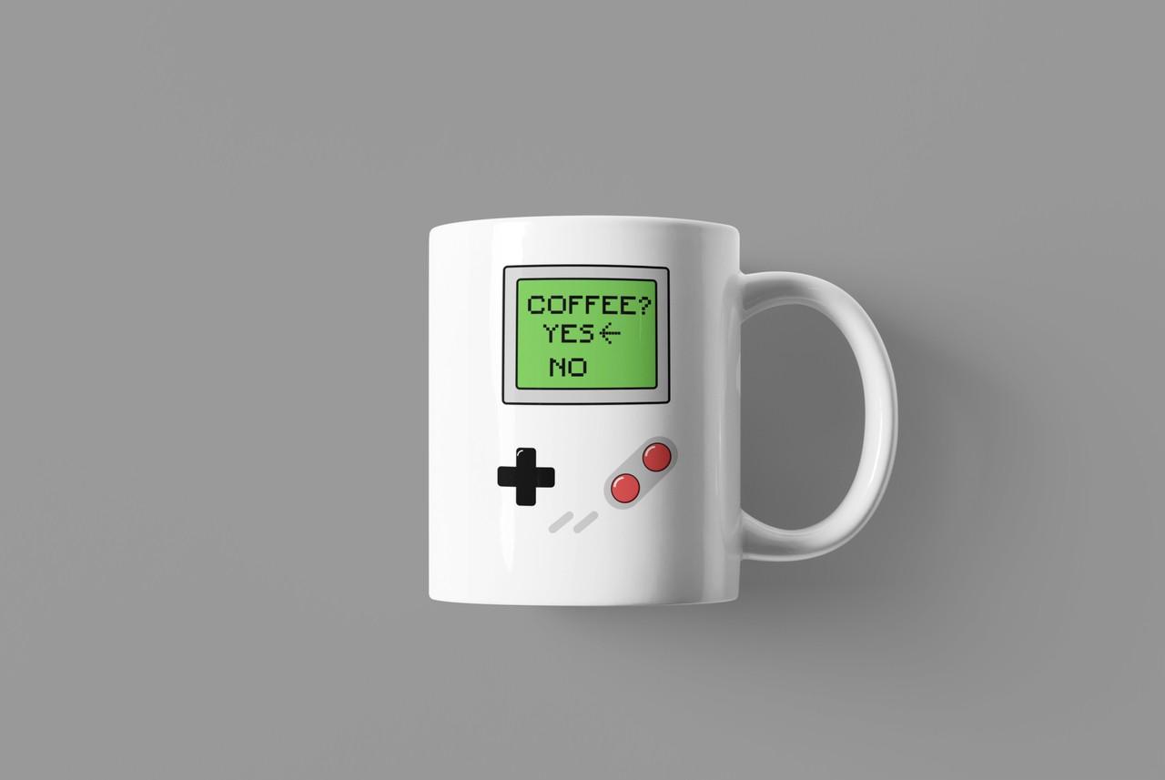Caneca Geek Love Gameboy Coffee