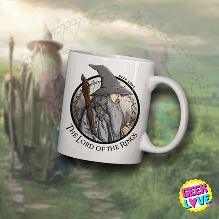 Caneca Geek Love - Gandalf - The Lord Of The Rings