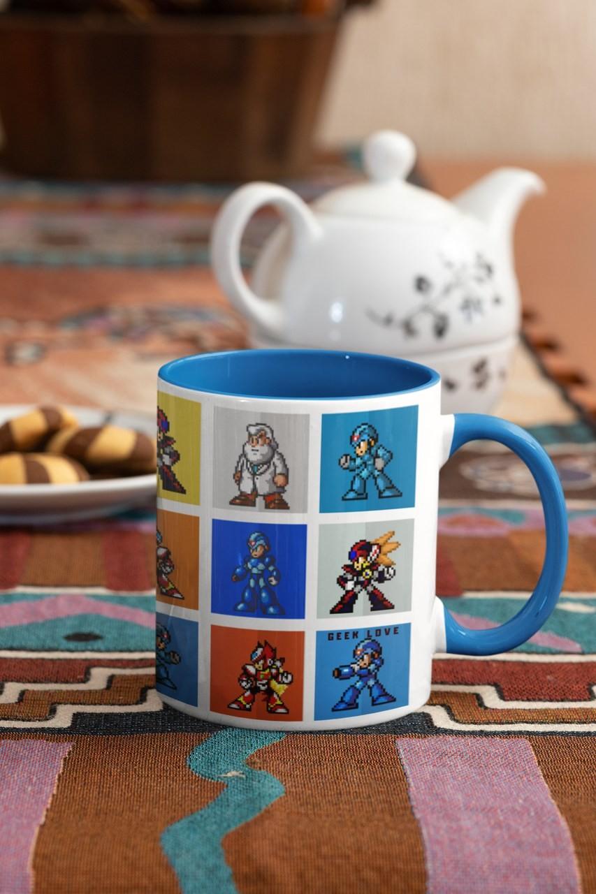 Caneca Geek Love - Mega Man