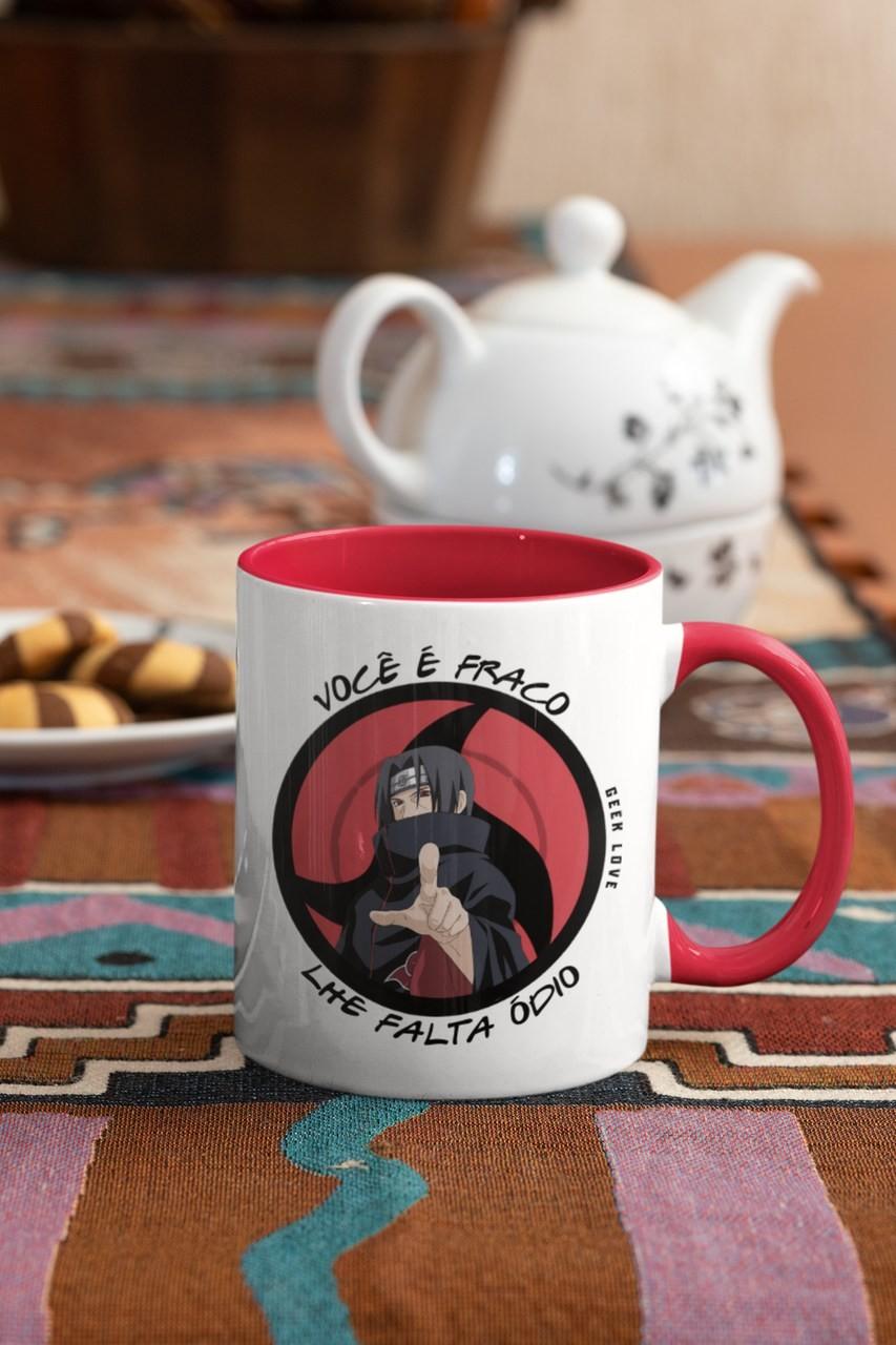 Caneca Geek Love Naruto - Itachi