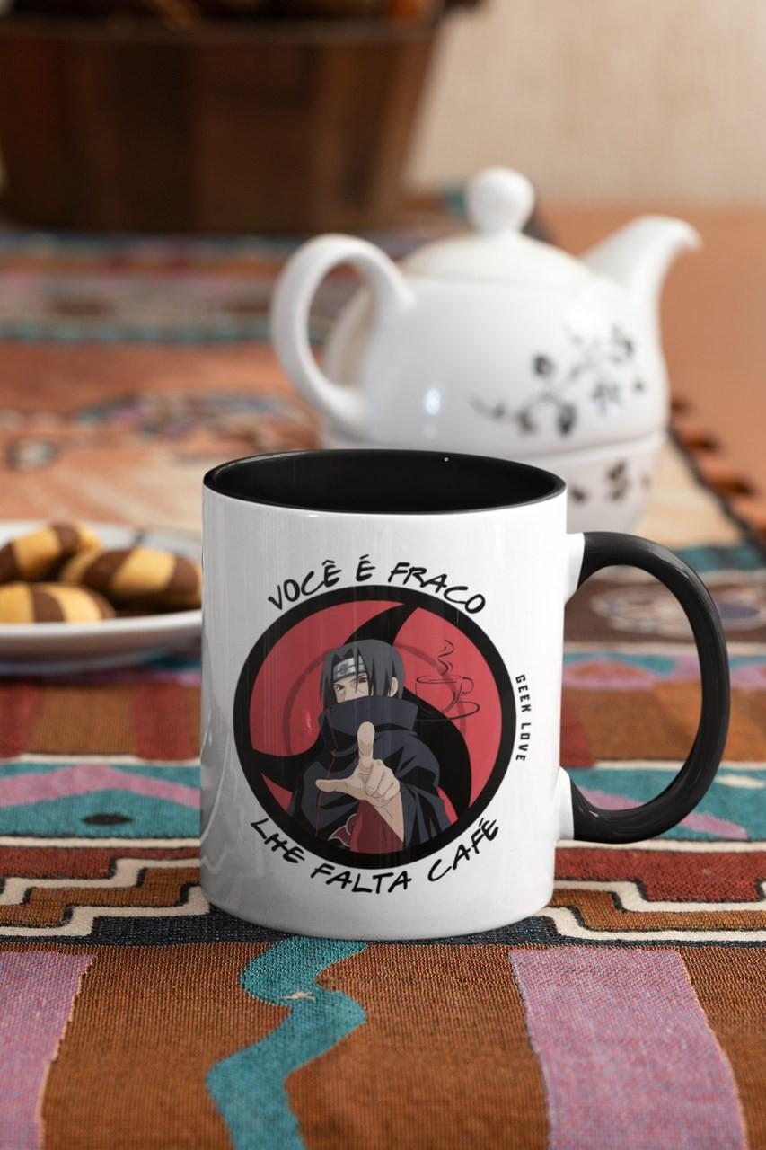 Caneca Geek Love Naruto - Itachi Cafezeiro