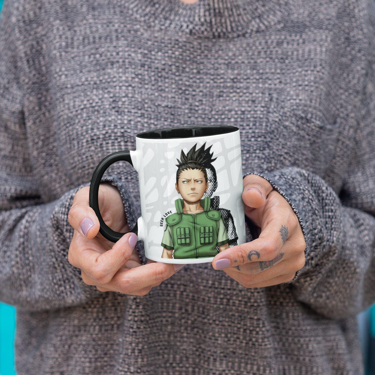 Caneca Geek Love Naruto - Shikamaru Nara