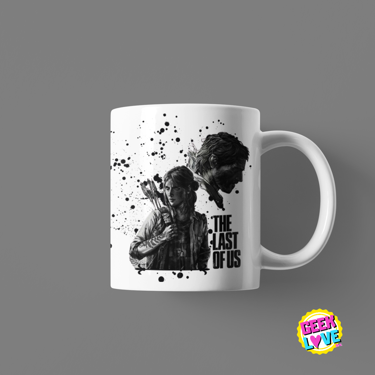 Caneca Geek Love - The Last of Us