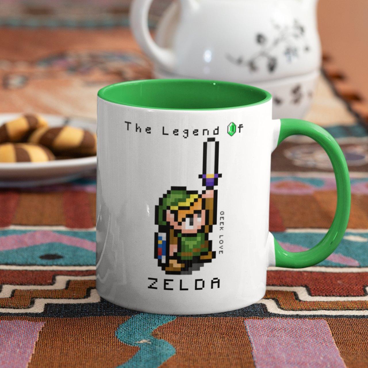 Caneca Geek Love The Legend of Zelda - Link
