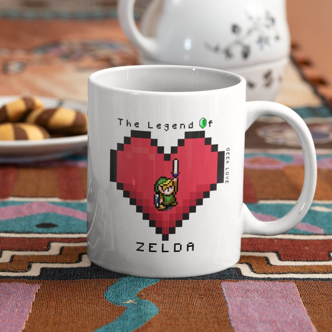 Caneca Geek Love The Legend of Zelda - Zelda Love