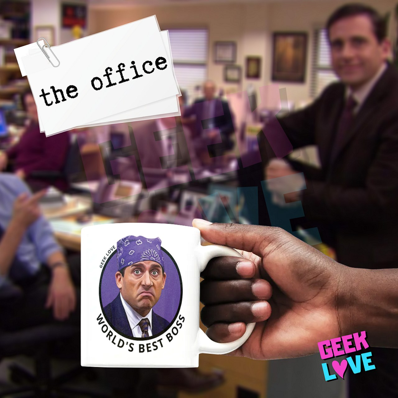 Caneca Geek Love The Office