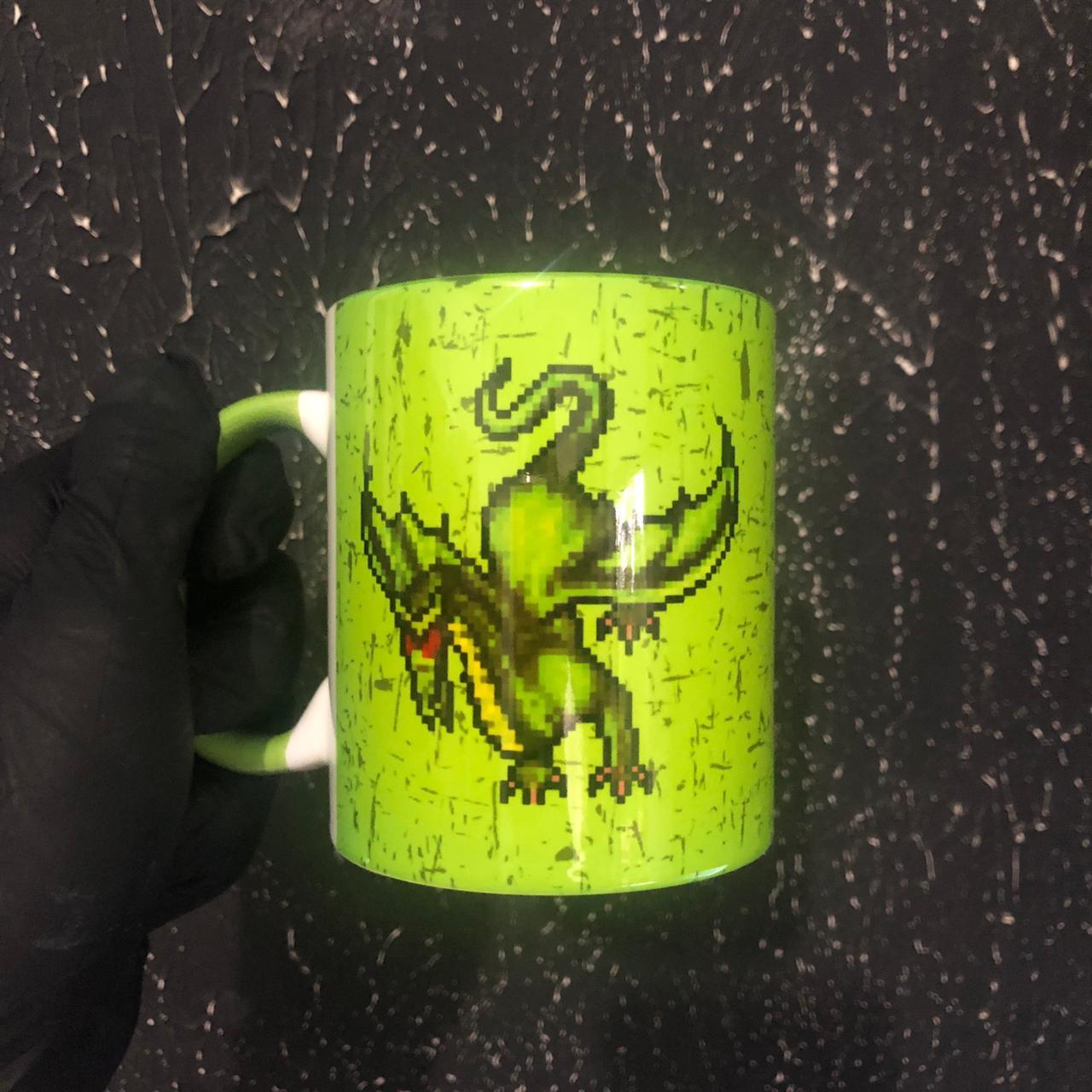 Caneca Geek Love Tibia - Dragon