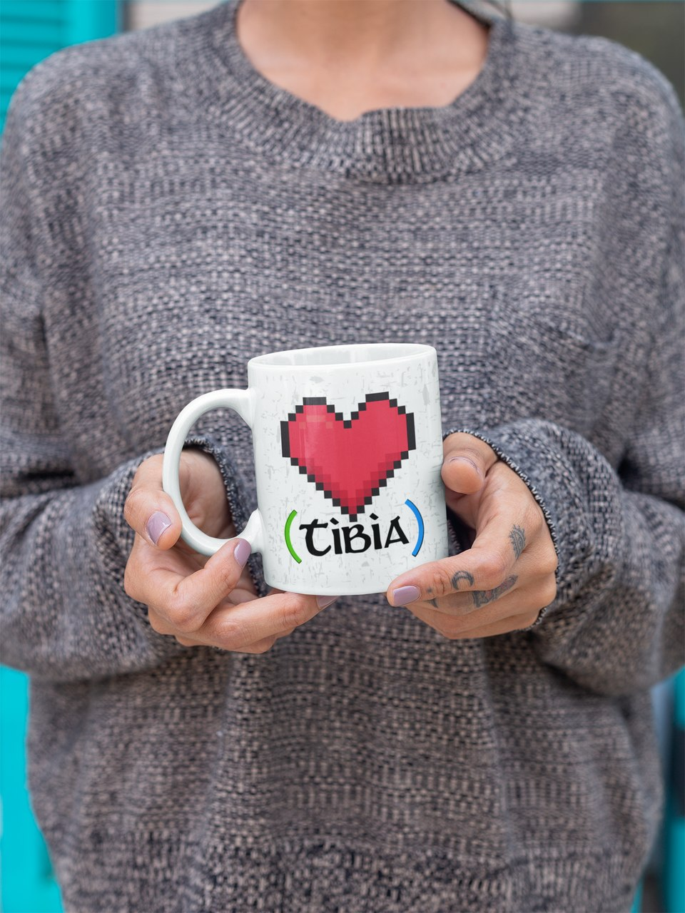 Caneca Geek Love - Tibia Love (Modelo 2)