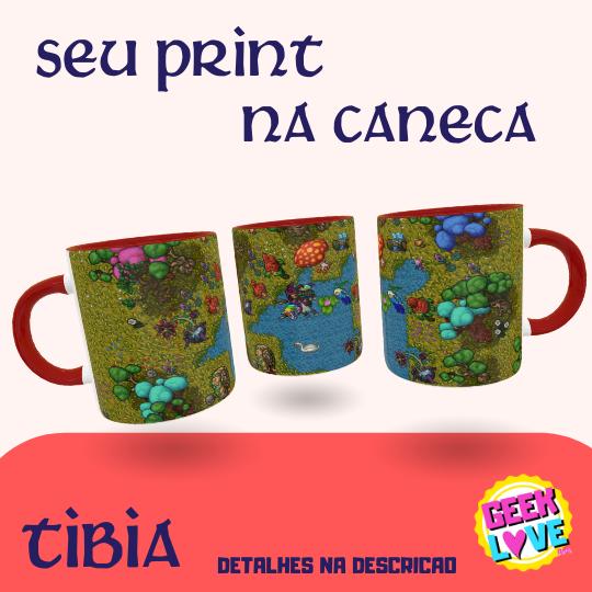 Caneca Geek Love Tibia Print