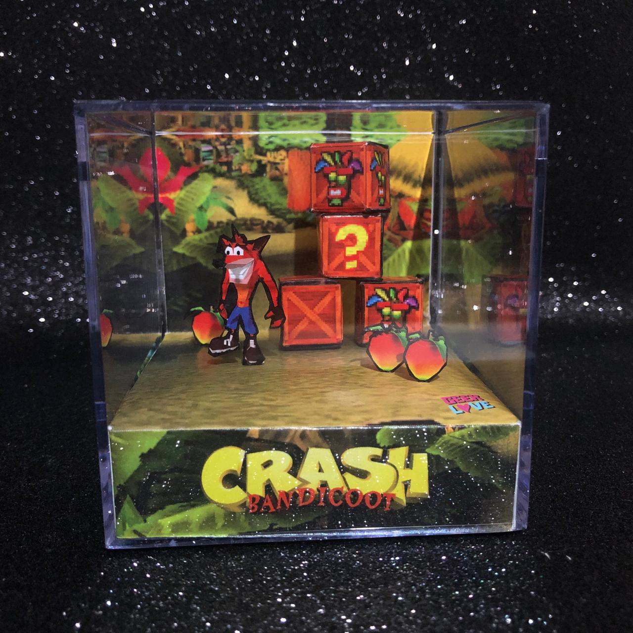 Geek Love Cubo - Crash Bandicoot