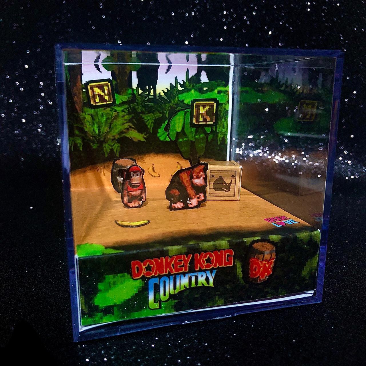 Geek Love Cubo - Donkey Kong Country