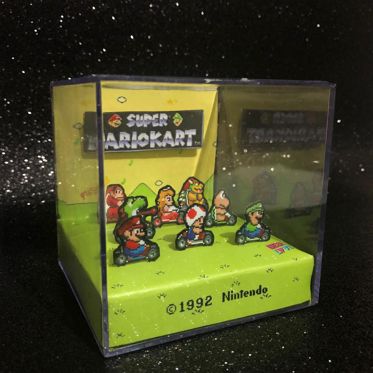 Geek Love Cubo - Super Mario Kart