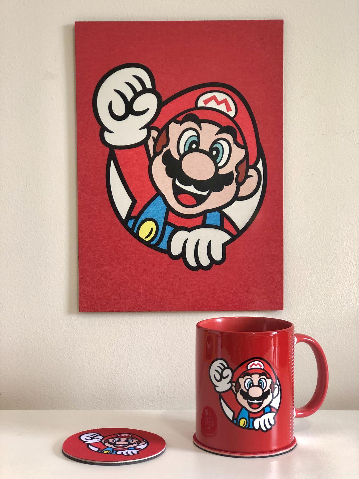 Kit Super Mario 3D World - Mario