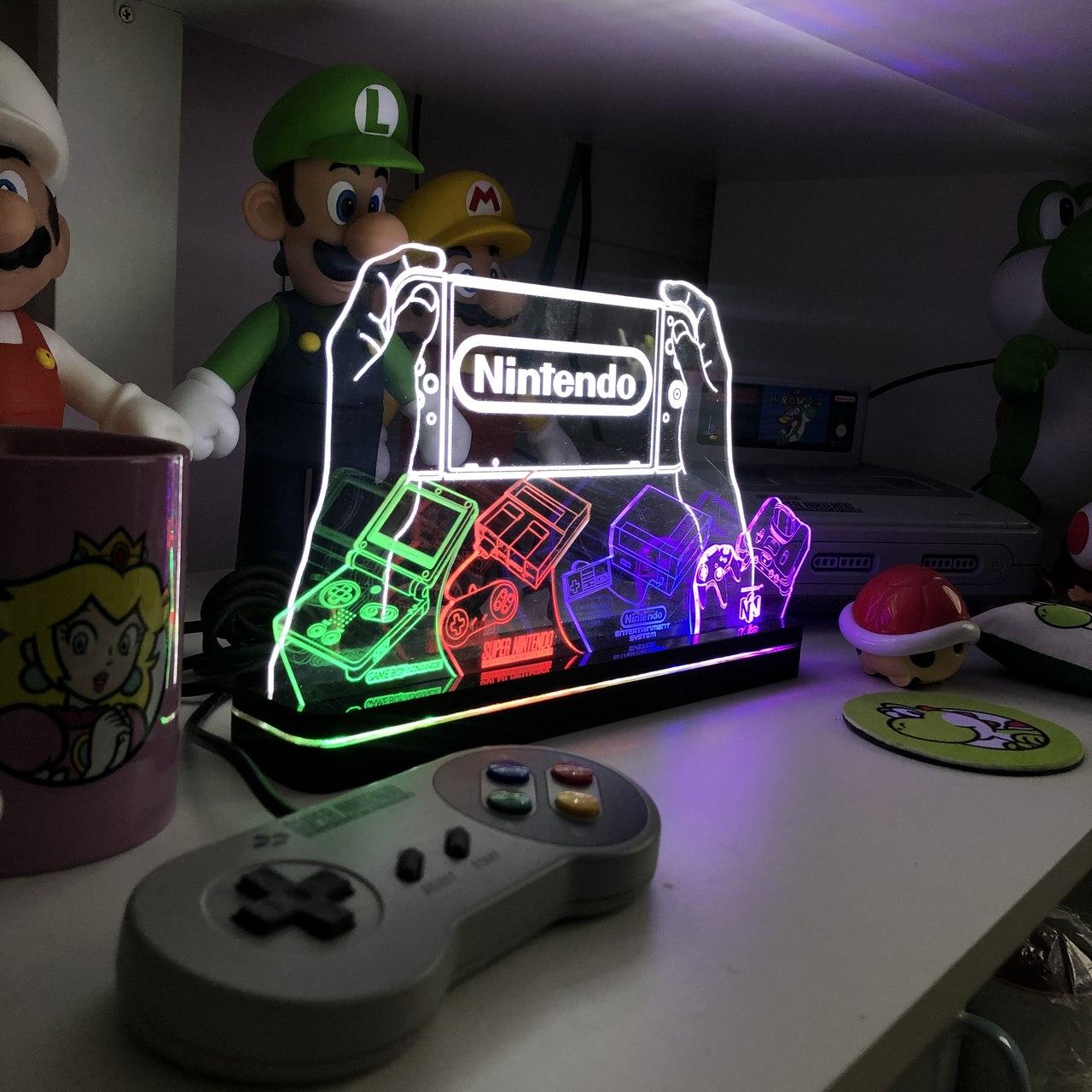 Luminária Nintendo
