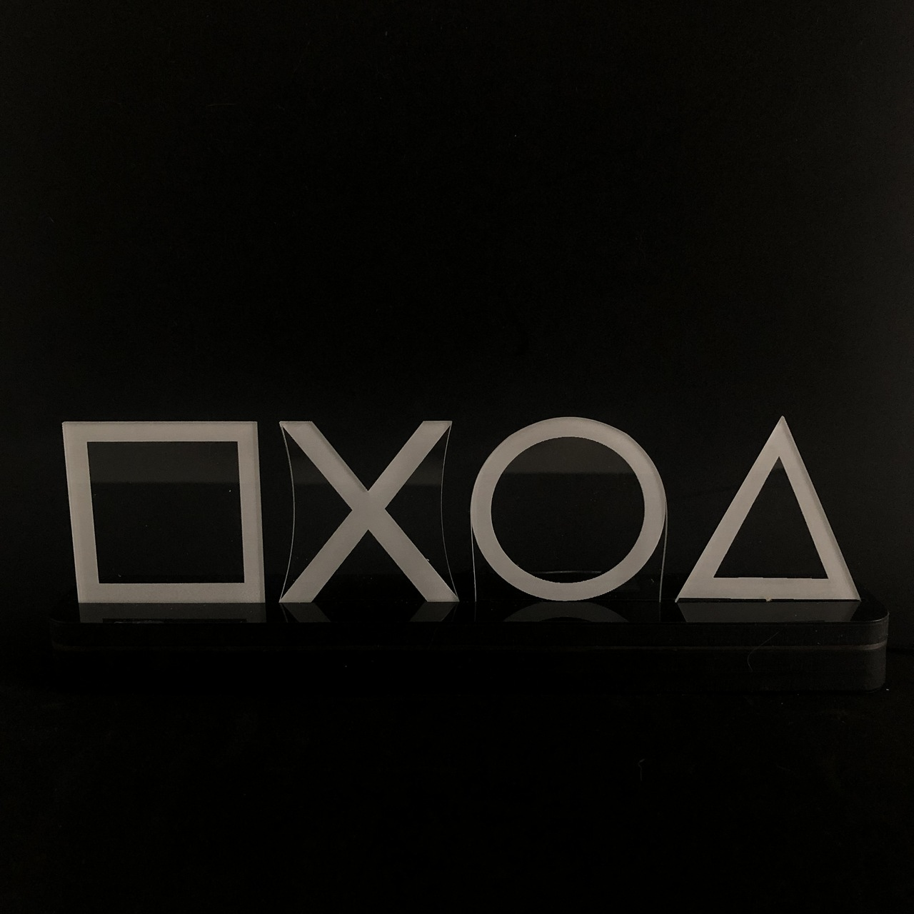 Luminária Símbolos Playstation