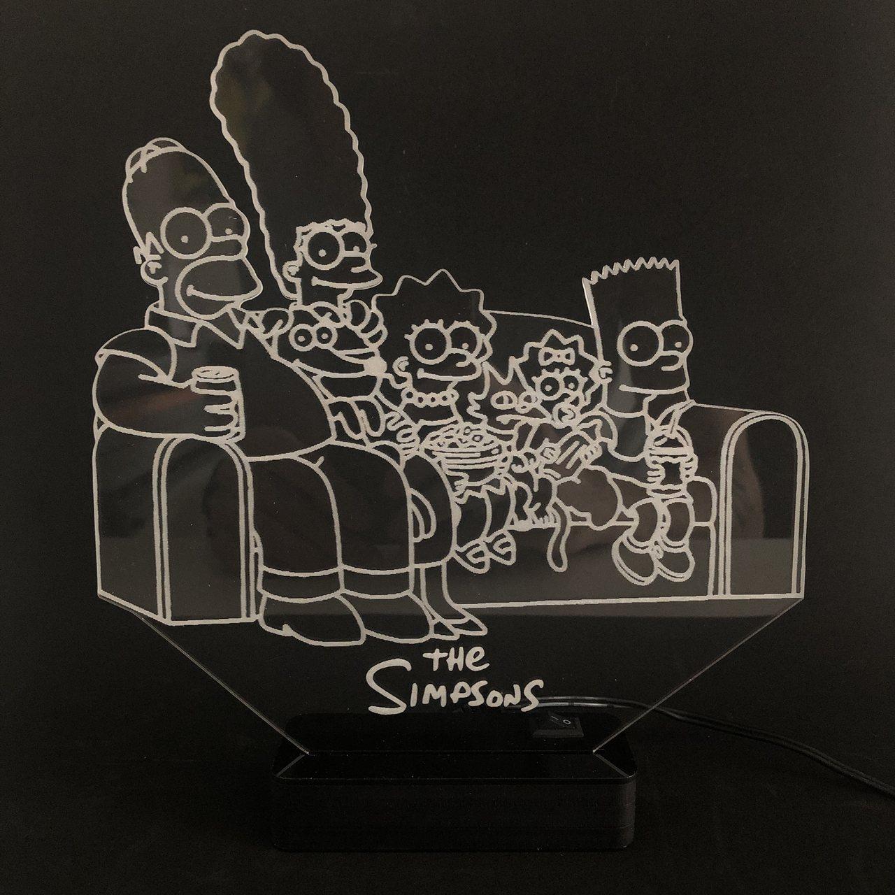 Luminária Simpsons