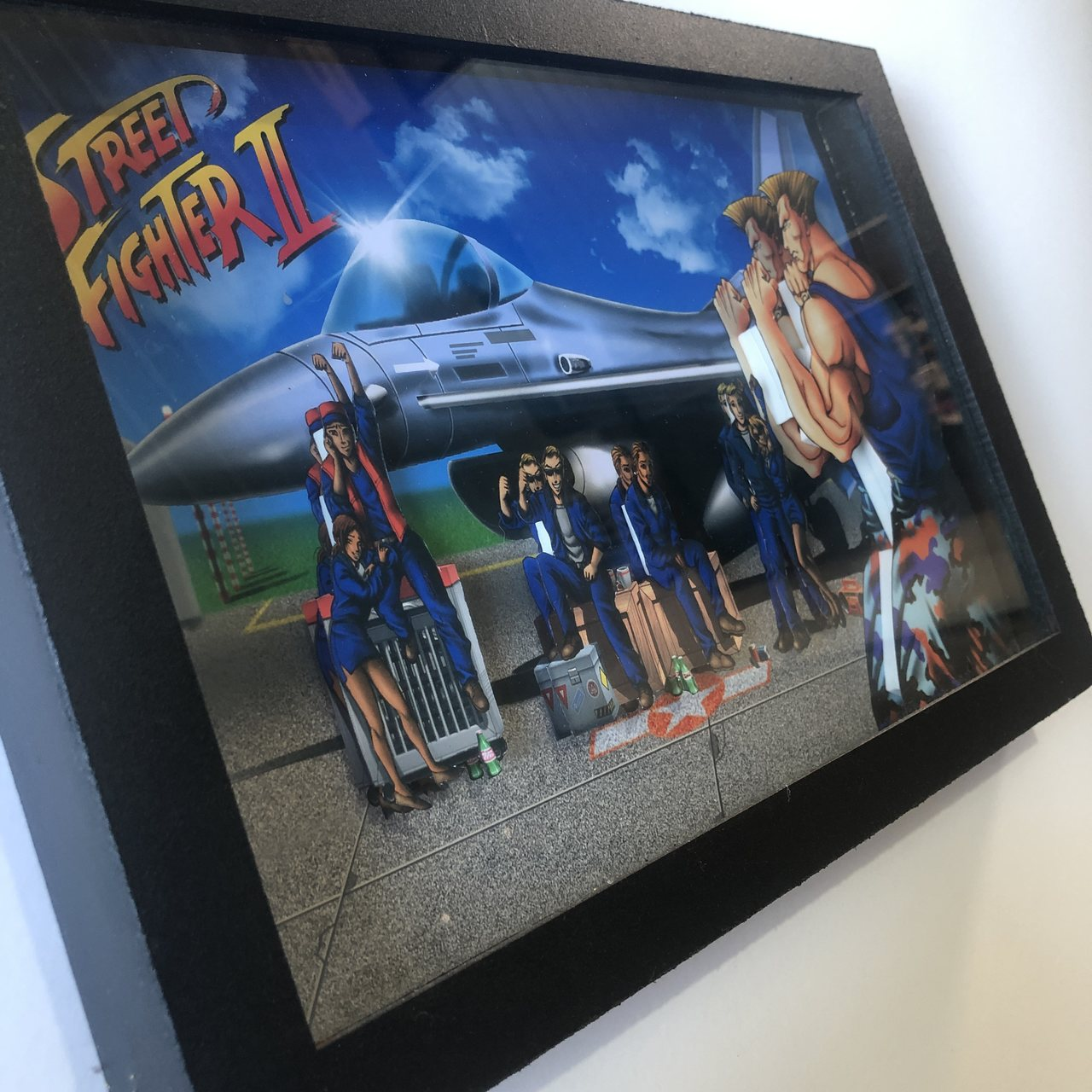 Quadro 3d - Street Fighter