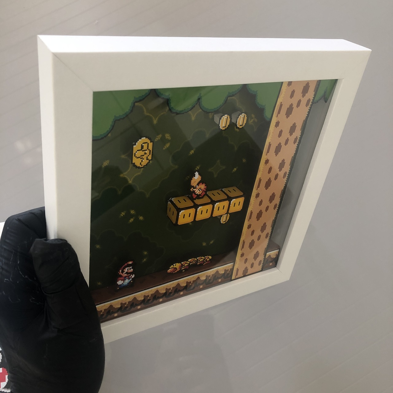 Quadro Diorama - Super Mario World - Forest of illusion