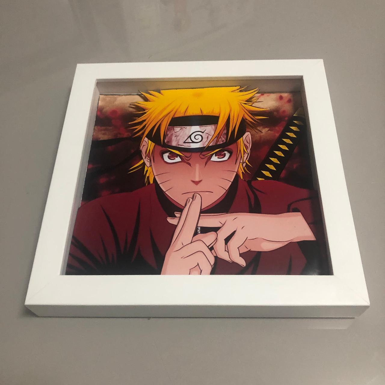 Quadro Naruto - Estilo 3D