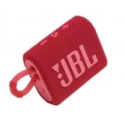 JBL GO 3 Vermelha Original Prova de agua