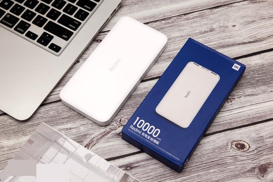Carregador Portatil Xiaomi Redmi Power Bank 10000mah Original