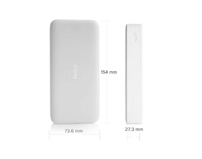 Carregador Redmi Power Bank Xiaomi 20000mah Original