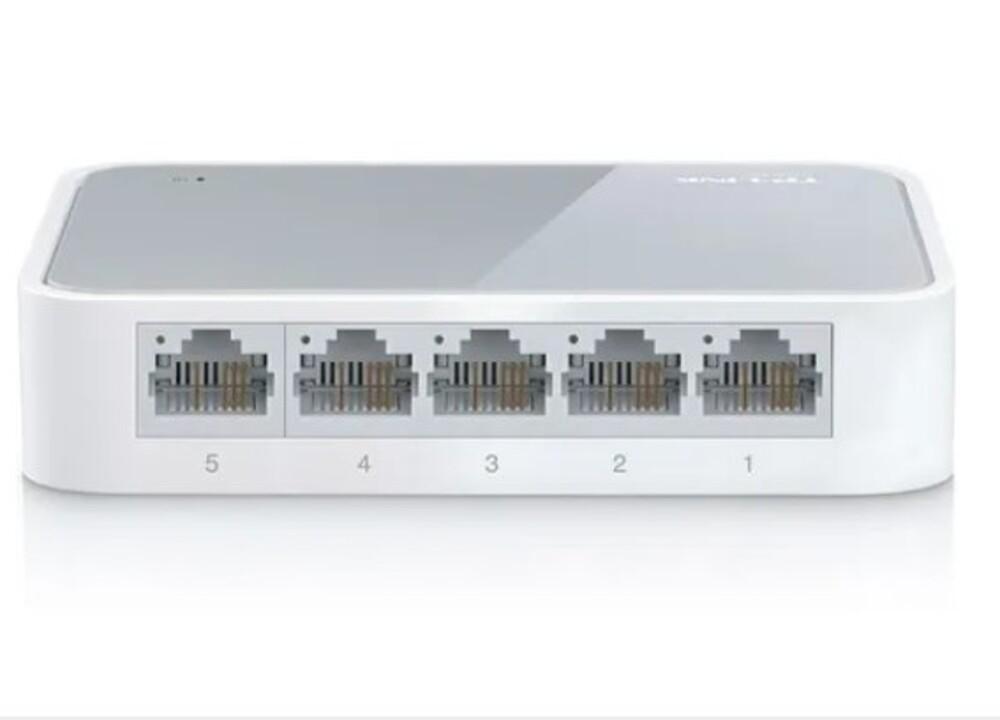 Hub Switch De Mesa 5 Portas 10/100 Mbps Tp-link Tl-sf1005d