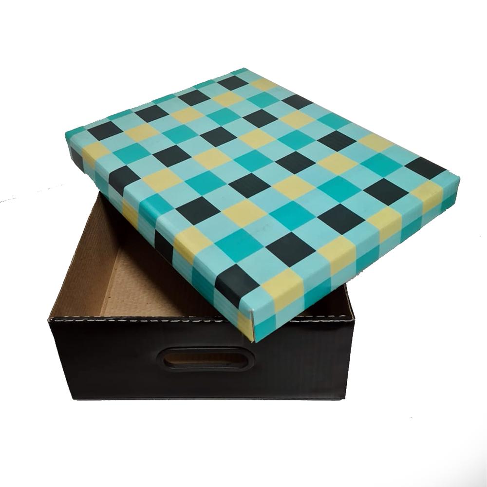 KIT 2 Caixas de Papelão  Organizadora Pequena - G4