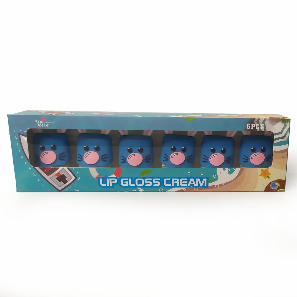 Kit 6 Lip Gloss Cream Coelinho Revenda Atacado - Any Color