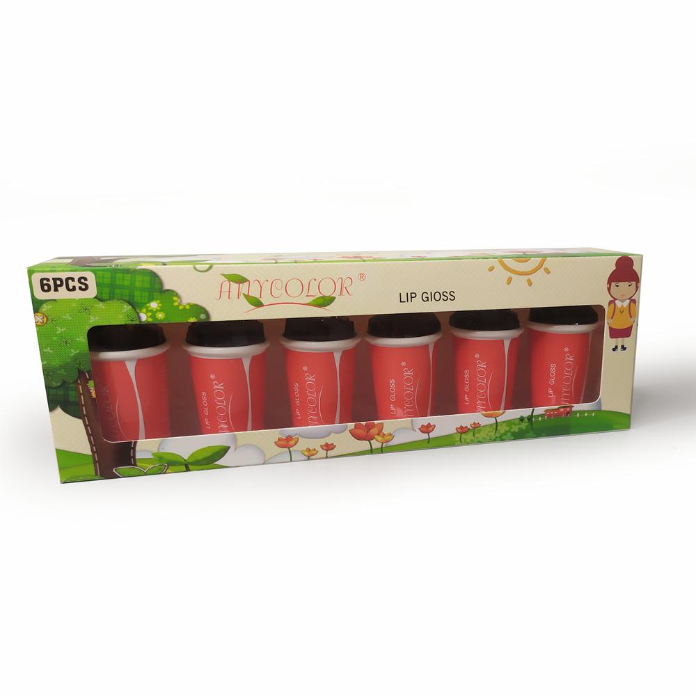 Lip Gloss Any Color Kit 6 Unidades, Maquiagem, Lábio