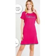 camisetao onca pink