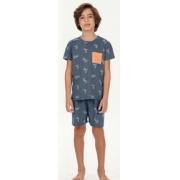 pijama manga curta infantil