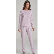 pijama manga longa com sache de cheiro