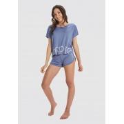 short doll inspire azul viscolycra