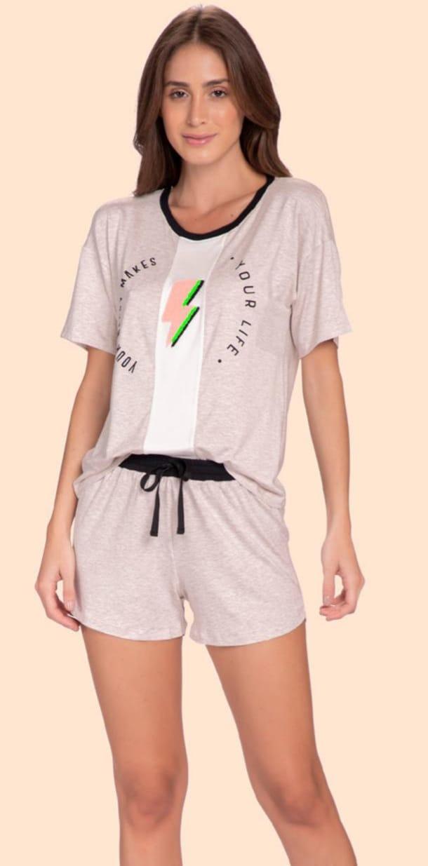 pijama curto energy up