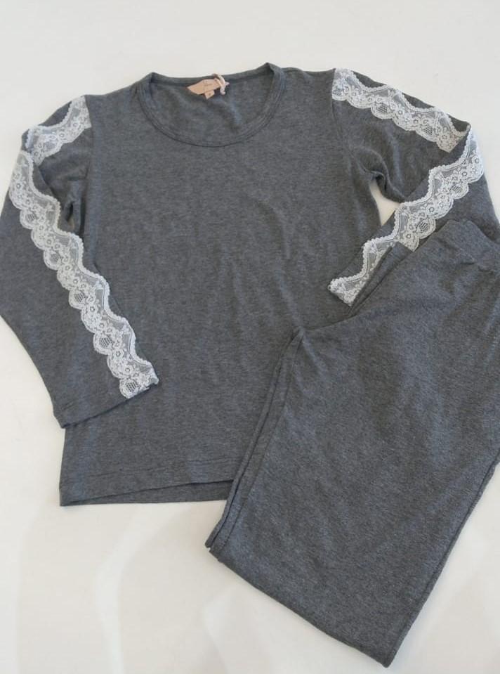 pijama longo infantil melanger