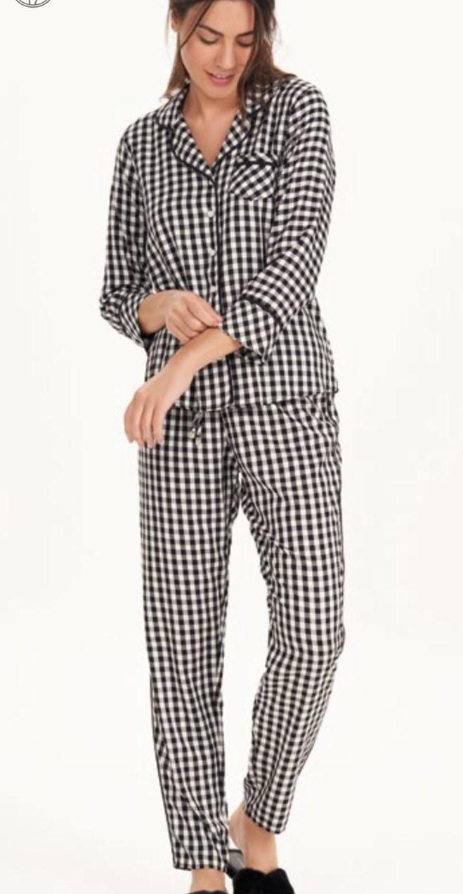 pijama manga longa com abertura visar ranauxview
