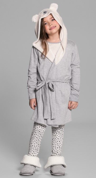 robe polar bear infantil
