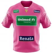 Camisa Oficial Feminina Bicampeão - Patch comemorativo - Personalizável - Outubro Rosa