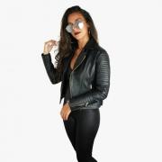 Jaqueta Feminina De Couro Bovino Legítimo Premium 235b